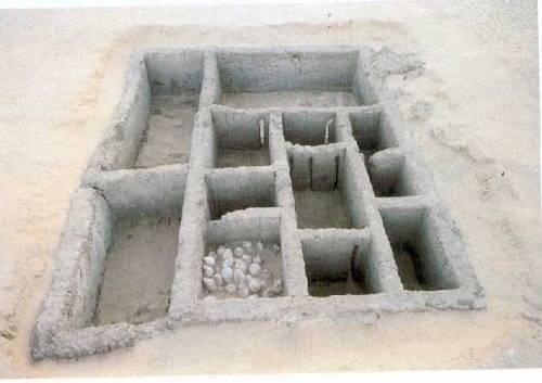 Гробница правителя Около 3200 года до н.э. (культура Негада-III) Кирпич-сырец Абидос, некрополь знати