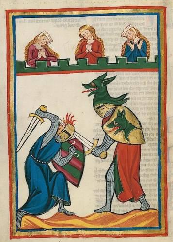 Поединок рыцарей